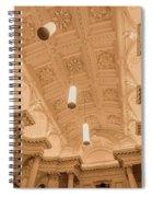 Melbourne Architecture Spiral Notebook
