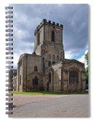 Melbourne Parish Church In Derbyshire Spiral Notebook