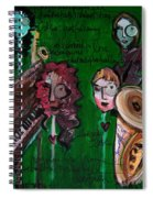 Melissa Axel At Swallow Hill Spiral Notebook