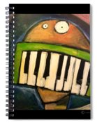 Melodica Mouth Spiral Notebook