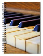 Melodies And Memories Spiral Notebook