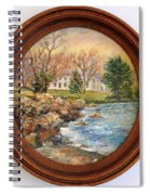 Melody Of Autumn. Spiral Notebook