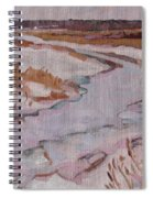 Melt Water Spiral Notebook