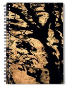 Melted Chocolate Spiral Notebook