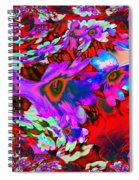 Melted Together  Spiral Notebook