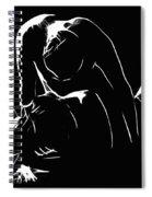 Melting 2 Spiral Notebook