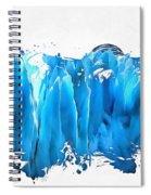 Melting Glaciers Spiral Notebook