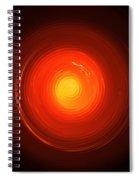 Melting Glass Spiral Notebook