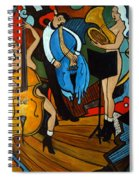 Melting Jazz Spiral Notebook