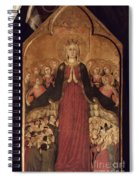Memmi: Madonna In Heaven Spiral Notebook