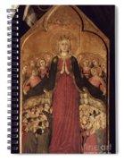 Memmi: Madonna In Heaven Spiral Notebook