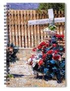 Memorial 1 Spiral Notebook