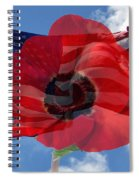 Memorial Day - Remembrance Day - Armistice Day Spiral Notebook
