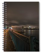 Memorial Drive Charles River Boston Ma Massachusetts Spiral Notebook