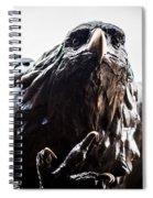 Memorial Eagle Spiral Notebook