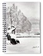 Memorial Schoenbrunn Spiral Notebook