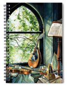 Memories And Music Spiral Notebook
