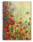 Memories Of Grandmother's Garden Spiral Notebook