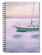 Memories Of Seasons Past - Prisoner Of Ice Spiral Notebook