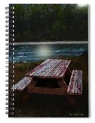 Memories Of Summers Past Spiral Notebook