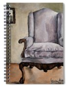 Memory Chair Spiral Notebook