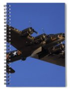 Memphis Belle Spiral Notebook