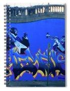 Memphis Blues Spiral Notebook