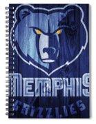 Memphis Grizzlies Barn Door Spiral Notebook