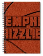 Memphis Grizzlies Leather Art Spiral Notebook