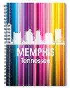 Memphis Tn 2 Squared Spiral Notebook