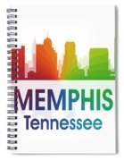 Memphis Tn Spiral Notebook