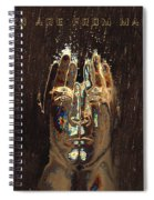 Men Are From Mars Gold Spiral Notebook