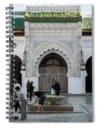 Men Performing Ablutions Prior Spiral Notebook
