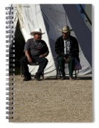 Men Talking Spiral Notebook