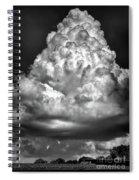 Menacing Cloud Spiral Notebook