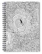 Menage Spiral Notebook