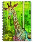 Menagerie Spiral Notebook