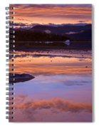Mendenhall Sunset Spiral Notebook