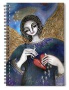 Mender Of Hearts Angel Spiral Notebook