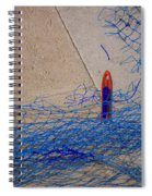 Mending The Net Spiral Notebook