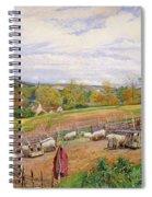Mending The Sheep Pen Spiral Notebook