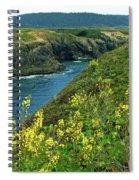 Mendocino Headlands Spiral Notebook
