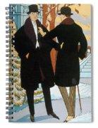 Mens Fashion, 1919 Spiral Notebook
