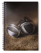 Mens Formalwear Cufflinks Spiral Notebook