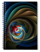Mental Squirrel Cage Spiral Notebook