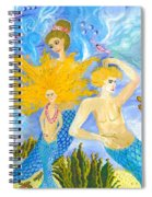 Mer Mum And Comb Spiral Notebook