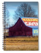 Meramec Caverns Barn Spiral Notebook