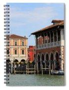 Mercato Di Rialto In Venice Italy Spiral Notebook