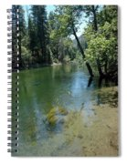 Merced River Banks Spiral Notebook