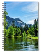 Merced River In Yosemite Valley Spiral Notebook